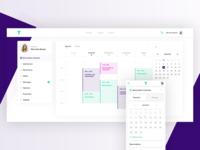 UI design - calendar