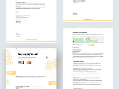 E-commerce honey website application web app design illustration user interface design app design ui design ui  ux uidesign uiux webdesign website design web design website