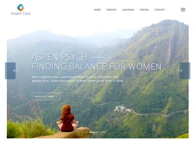 Aspen Care - Landing/Home Page