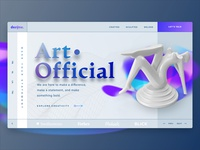 Art. Official Banner Concept 1