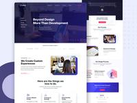 New Service Page Design