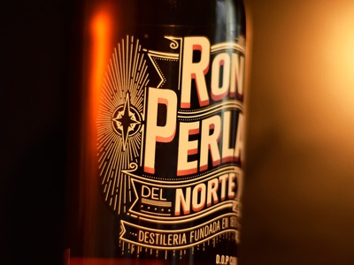 """Perla del Norte"" Label Design"