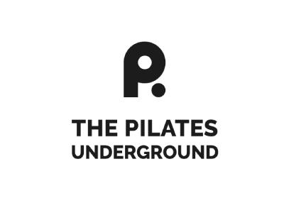 Pilates underground modern clean graphic minimal graphic design logo design logo design