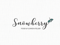 Snowberry logo design