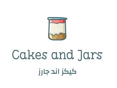 Cakes and Jars - Visual Design design graphic sweets cakes illustration graphic design logo logo design visual