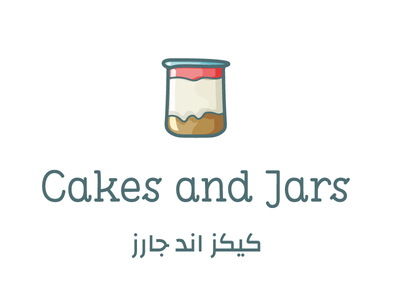 Cakes and Jars - Visual Design design graphic sweets cakes illustration graphic design logo logo design visual