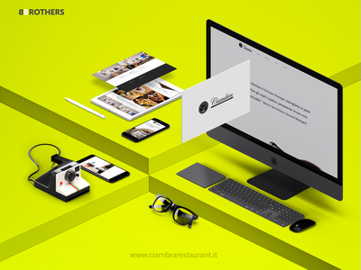 Ciambra Restaurant - webdesign site mockup web mockup mockup website web webdesign