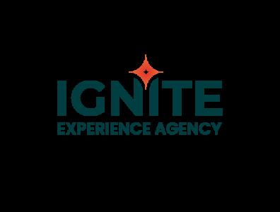 Ignite - experience agency minimal typography graphic branding logo design logotype logo ignite