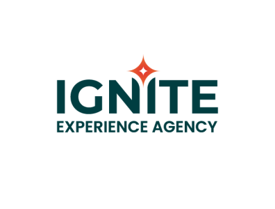Ignite - experience agency minimal typography graphic branding logo design logotype logo ignite