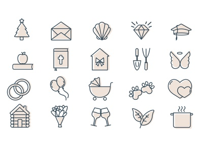 Iconography illustration branding icons design icons icons set iconography