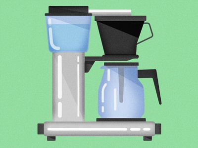 Coffee Maker vector blue green simple mocca illustrator illustration coffee