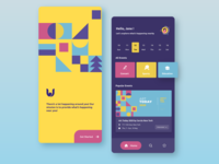Uvento App - Colorful