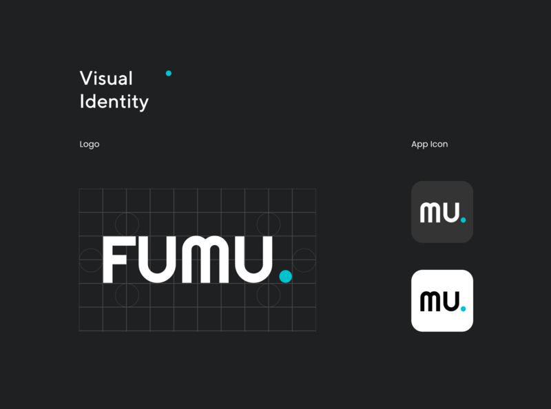 Fumu - Logo Design ux case study shipping visual identity visual design branding uidesign logo service app service delivery package