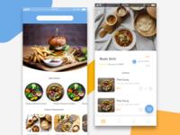 Food odering app