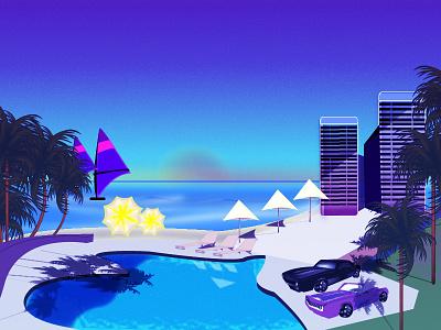 Vector Illustration GTA Style vector illustration vector design illustration