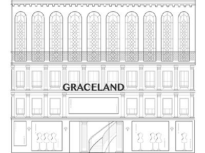 GRACELAND fashion,illustration