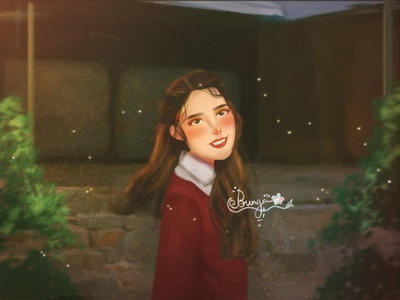 So are you happy now? ♫ photoshop artwork color mood color grading art direction character painting illustration digital painting digital art concept art