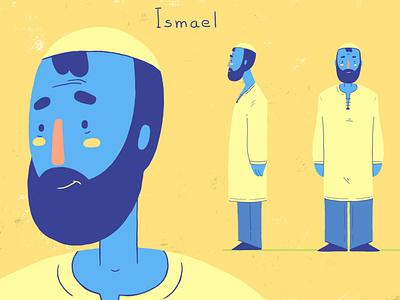 Ismael art direction art character design character design illustration 2d