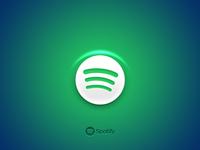 Blueish green Spotify