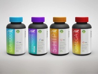 Vitamins labels