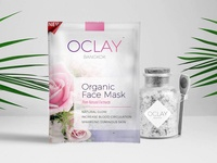 Organic face mask packaging