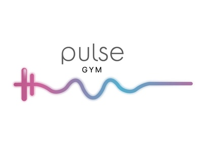 Pulse Gym illustration logo gym logo gym pulse