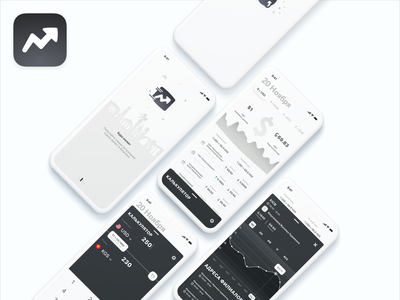 Mobile app - Som product ux design ui ux bank money currency exchange currency