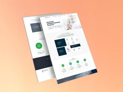 Corporate Web Design Dribble