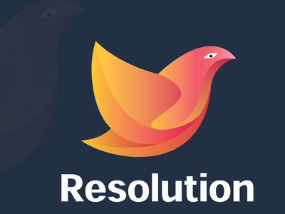 Logo Design for Resolution- Mental WellBeing App
