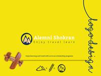 ALemni Branding ( Education Travel Agency logo )