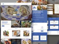 Greek Meat Guy Website Re-Design