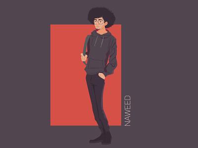 NAWEED iran character character design illustrator illustration vectors adobe illustrator illustraion