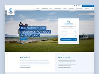 Scottish Golf Homepage