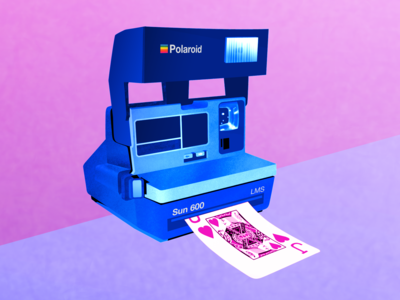 Polaroid Surprise - Illustration