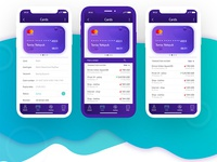 OnBANK IOS Application/ Card Manipulation