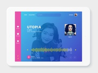 Daily UI 9 - Music Player