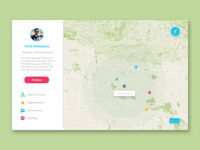 Daily UI 29 - Map