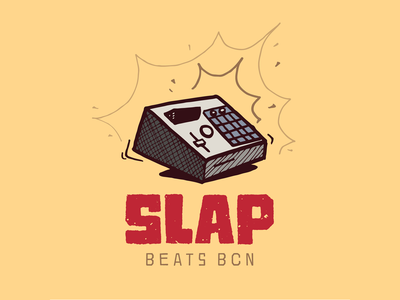 SLAP · Beats BCN logo hiphop competition showcase beats mpc2000xl mpc logo
