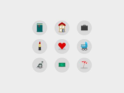 Custom icons icons custom illustration iconset iwink