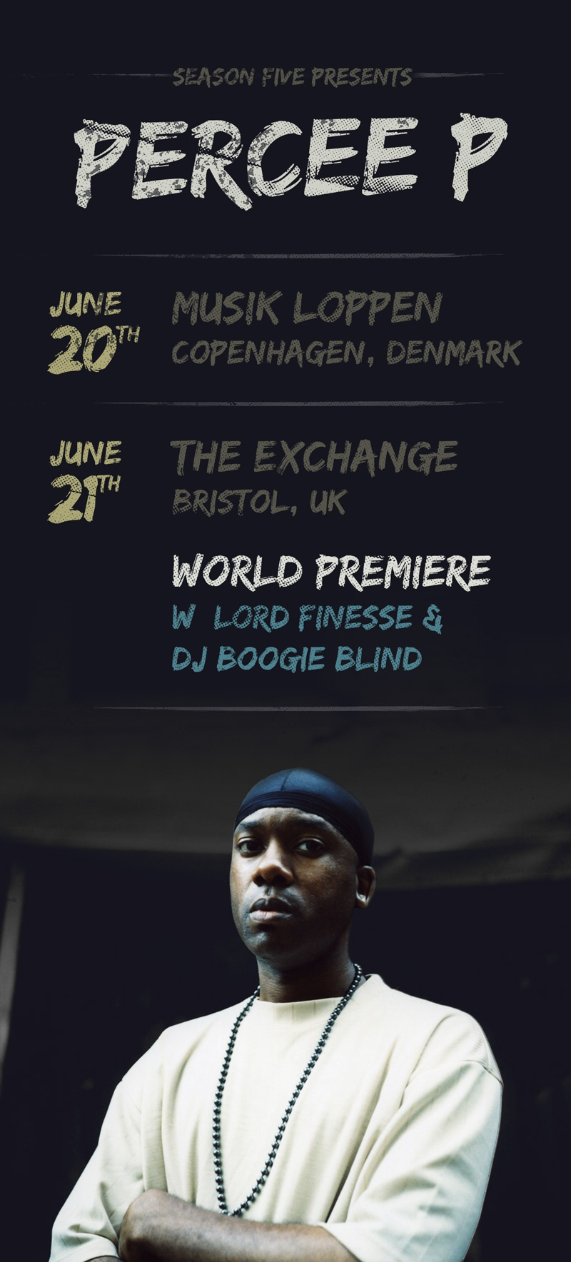 Percee p flyer