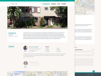 Platform website responsive light clean webdesign iwink bebas platform flat layout ui