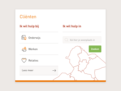 UI in progress layout content website webdesign minimal clean flat element ui