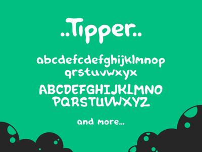 Free font: Tipper typography free freebie hand-drawn font typeface tipper free font