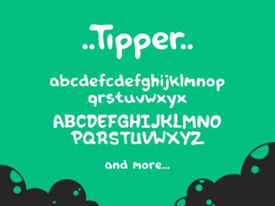 Free font: Tipper