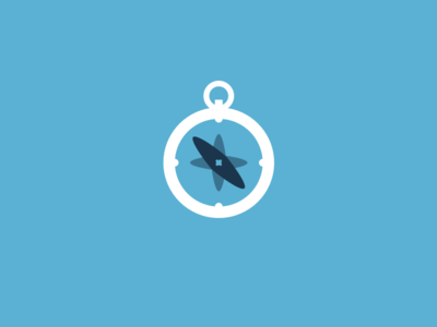 Compass logo for a seminar