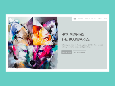 A painters' website