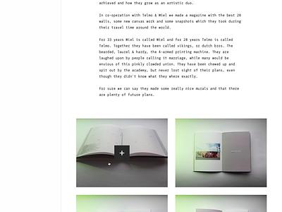 Yes! Chemistry Publishing monospace publishing responsive modern interface webdesign ux ui clean