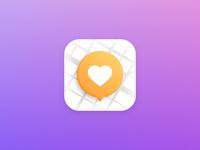 Location based app icon