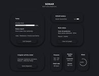 Brain wave detection - Sonar App Design