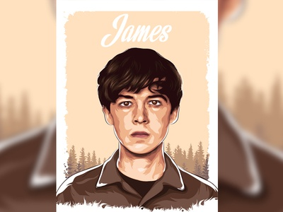 """James """" The end of the f***ing world """""""